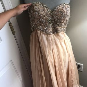 Beautiful beaded formal gown